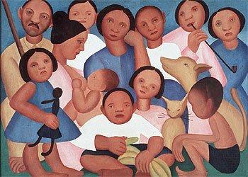 A Família - de Tarsila do Amaral