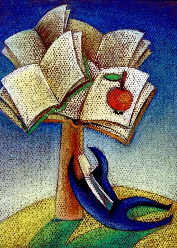 Árvore de livros - publicado em www.techusers.org