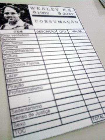 Registro de Consumação